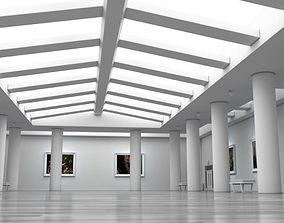3D model Art Gallery White