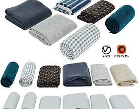 Blanket collection 05 3D model