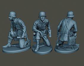 German soldier ww2 grenade G2 3D print model