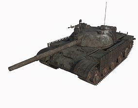 Abandoned tank 03 3D model