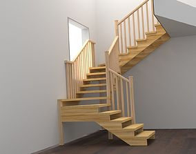 step Stairs 3d model
