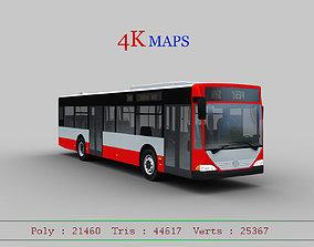 3D model Mercedes Benz Citaro O530 Bus with Lowpoly