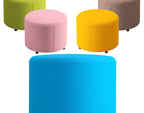 ACTIU BEND puff 3D model