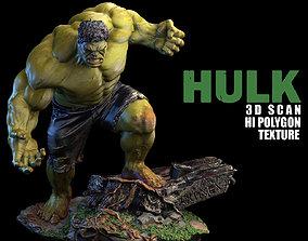 statue HULK 3D Scan