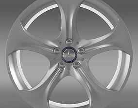 3D model Mercedes Benz S 400 hybrid rim