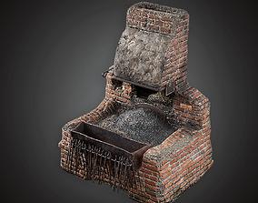 3D asset Blacksmith Forge - MVL - PBR Game Ready