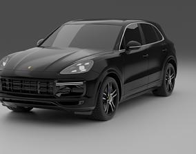 3D vehicle Porsche Cayenne