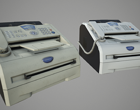 3D asset Photocopier Brother IntelliFax 2820