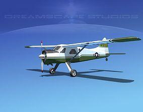 3D Dehaviland DH-2 Beaver US Army 2