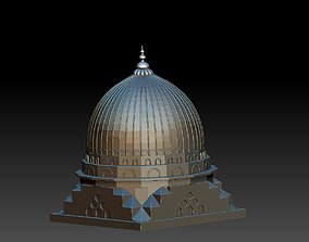 3D printable model free mosque dome design4new2