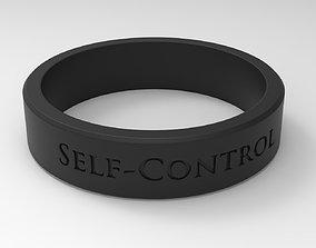 Self-Control Ring Black 3D printable model