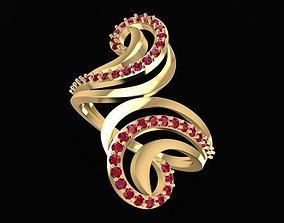 3D printable model 1477 Diamond Ring
