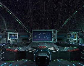 realtime 3DRT - Sci-Fi Spacecraft Cockpit 5