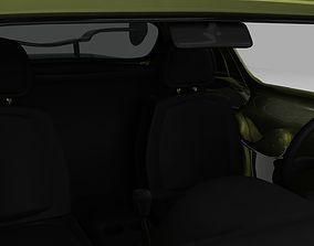 3D model drive Racing Car