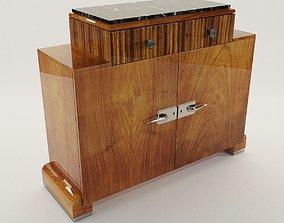 Sideboard - Art Deco 1920 3D sideboard