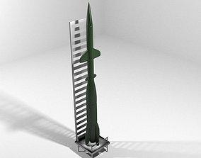 Rocket Missile - EKR 3D model
