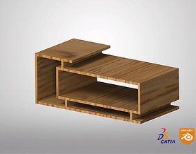 Table Coffee Simple 3D