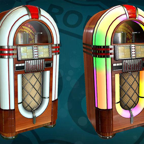 Route 66 bar - jukebox