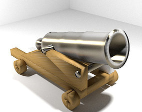 3D model Cannon - Fort Siege