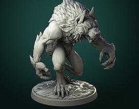 Common Werewolf 2 variants 3D print model