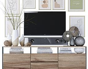 TV Console 3D furniture