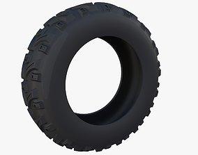 3D Generic ATV Tire 1