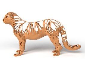 3D asset Leopard Dust Voronoi