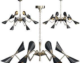 TWELVE Light chandelier 3D model