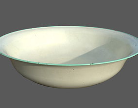Rusty water bowl 3D model