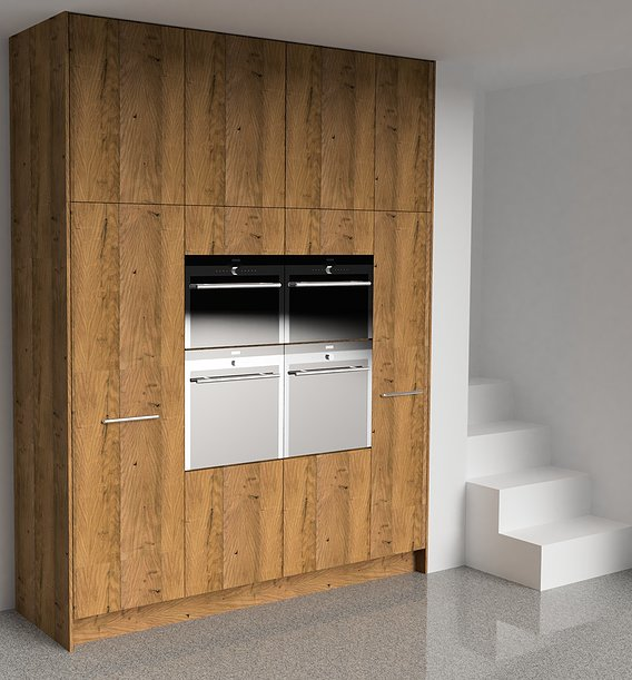 Wood Kitchen Oak Beam