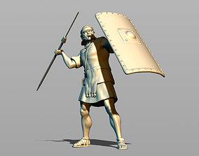 3D print model Roman legionary sweeps pilum