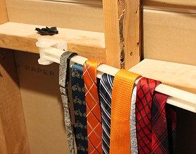 3D print model Swing Arm Tie Rack