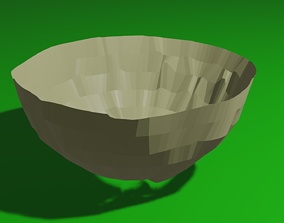TRADITIONAL INDIAN BOWL 3D asset