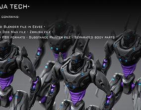 Ninja Tech 3D asset