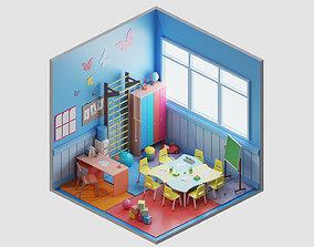 3D model room 18