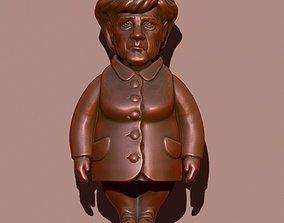 3D printable model Merkel puppet