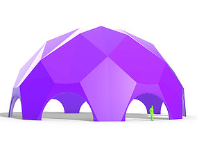 Solid Triangulated Dome Structure v1 3D