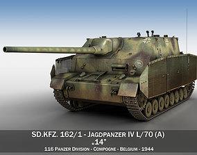 Jagdpanzer IV - L70 A - 14 jagdpanther 3D model