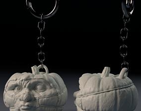 Halloween Pumpkin Covid-19 Nightmare - 3D printable model