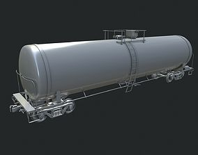 truck Tanker Car 3D model
