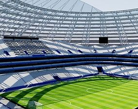 3D model cup Cosmos Arena - Samara Russia