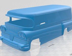 rc Bedford Printable Body Van