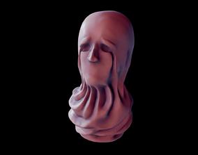 3D print model Sculpted Desperate Head
