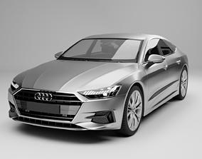 luxury 3D Audi A7 Sportback 2018