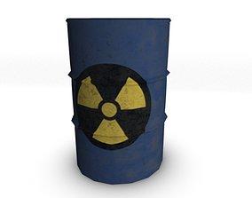 Metal Oil Barrel 3D