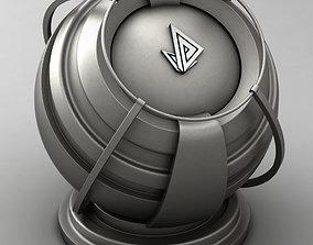 3D VRAY SHADER---METAL---Iron