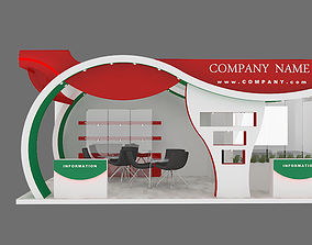 exhibition stand 16 3D