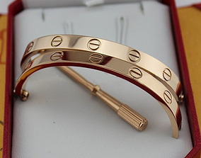 Love Cartier Bracelet 3D print model free