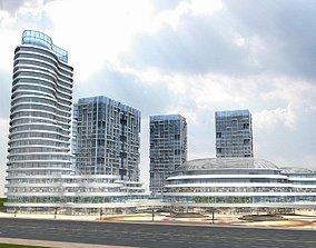 commercial 3D model Cityscape 4
