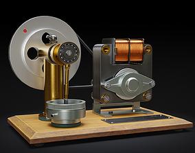 Air Compressor 3D